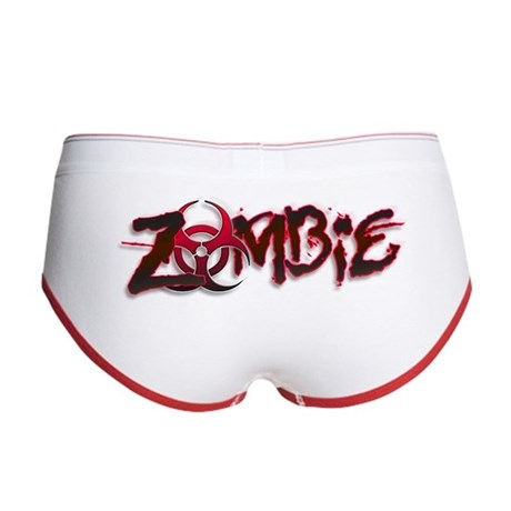 Zombie Biohazard Halloween Women's Boy Brief