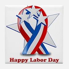 Labor Day 2011 Tile Coaster