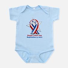 Labor Day 2011 Infant Bodysuit