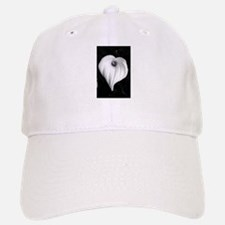 Black and White Calla Lily Baseball Baseball Cap