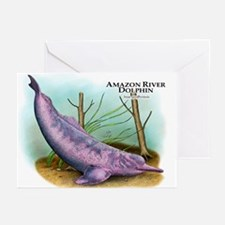 Amazon River Dolphin Greeting Cards (Pk of 20)