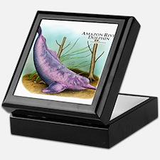 Amazon River Dolphin Keepsake Box