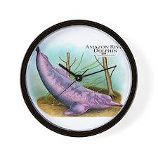 Amazon River Dolphin Wall Clock