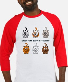 Crazy Cat Lady In Training Baseball Jersey