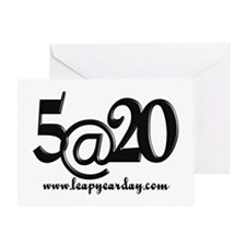 5@20 Greeting Card