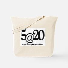 5@20 Tote Bag