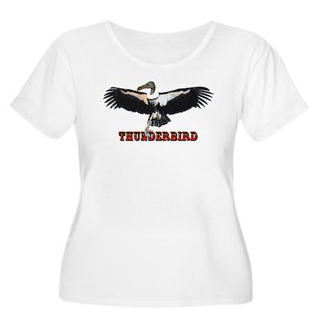 Thunderbird Women's Plus Size Scoop Neck T-Shirt