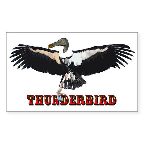 Thunderbird Sticker (Rectangle)