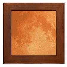 The Harvest Moon Framed Tile