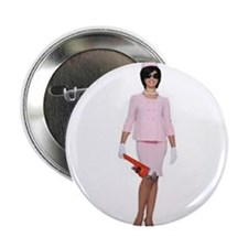 "Cute Jacky 2.25"" Button"