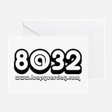 8@32 Greeting Card