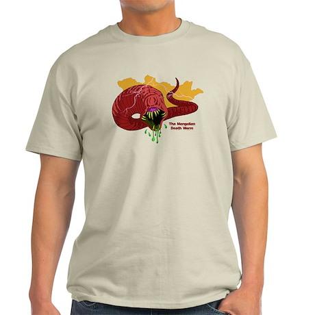 Mongolian Death Worm Light T-Shirt
