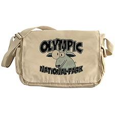 Olympic Natl Park Mountain Go Messenger Bag