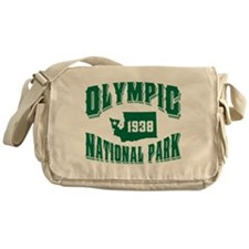 Olympic Old Style Green Messenger Bag
