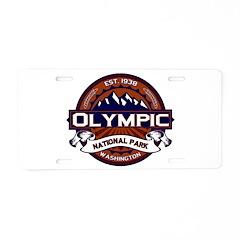 Olympic Vibrant Aluminum License Plate