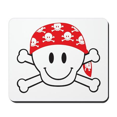 Happy Skull Mousepad