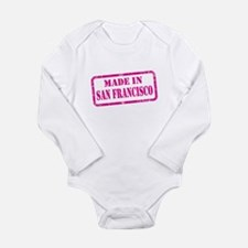 MADE IN SAN FRANCISCO Long Sleeve Infant Bodysuit