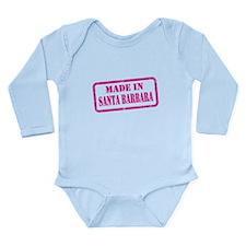 MADE IN SANTA BARBARA Long Sleeve Infant Bodysuit