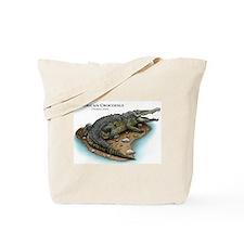 American Crocodile Tote Bag
