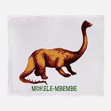 Mokele-mbembe Throw Blanket