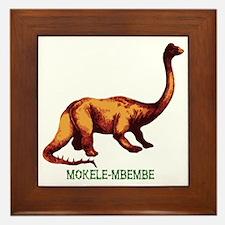Mokele-mbembe Framed Tile