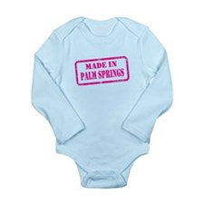 MADE IN PALM SPRINGS Long Sleeve Infant Bodysuit