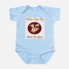 When Pigs Fly! Infant Bodysuit