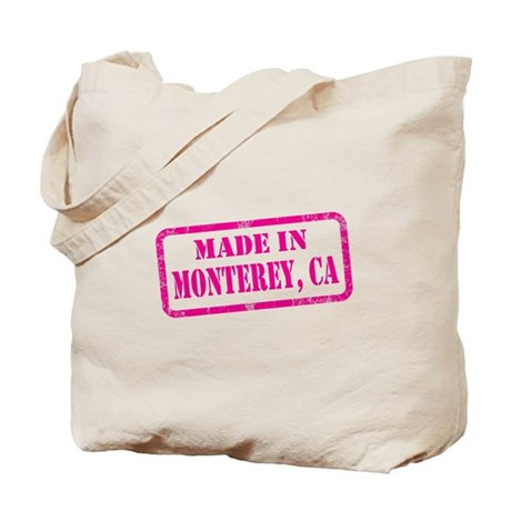 MADE IN MONTEREY Tote Bag