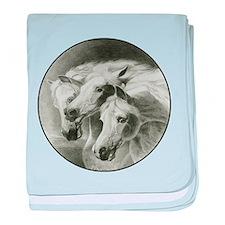 Artzsake Pharaoh's Horses baby blanket