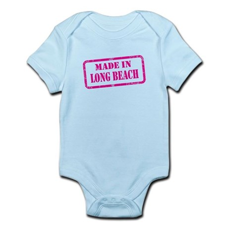 MADE IN LONG BEACH, CA Infant Bodysuit