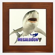 Megalodon Framed Tile
