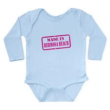 MADE IN HERMOSA BEACH Long Sleeve Infant Bodysuit