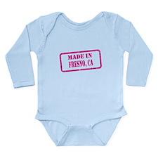 MADE IN FRESNO Long Sleeve Infant Bodysuit