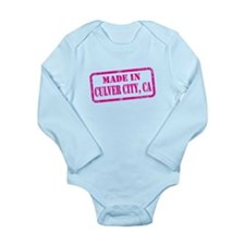 MADE IN CULVER CITY Long Sleeve Infant Bodysuit