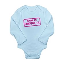 MADE IN COMPTON Long Sleeve Infant Bodysuit