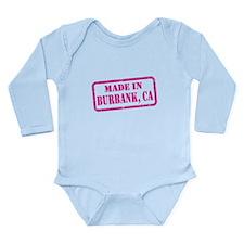 MADE IN BURBANK Long Sleeve Infant Bodysuit