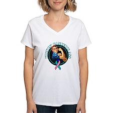Kickin' Thyroid Cancer's Ass Shirt