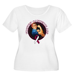 Kickin' Throat Cancer's Ass T-Shirt