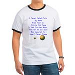 Pluto's Lament Limerick Ringer T