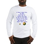 Pluto's Lament Limerick Long Sleeve T-Shirt