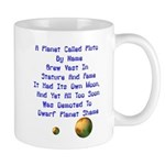 Pluto's Lament Limerick Mug