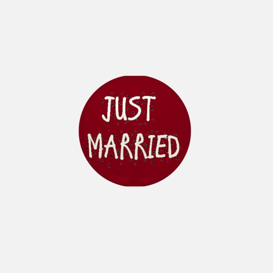 Cute Just married Mini Button