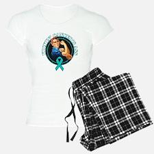 Kickin' Ovarian Cancer's Ass Pajamas