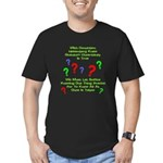 Uncertainty Principle Limeric Men's Fitted T-Shirt