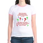 Uncertainty Principle Limeric Jr. Ringer T-Shirt