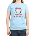 Uncertainty Principle Limeric Women's Light T-Shir
