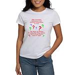 Uncertainty Principle Limeric Women's T-Shirt