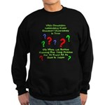 Uncertainty Principle Limeric Sweatshirt (dark)