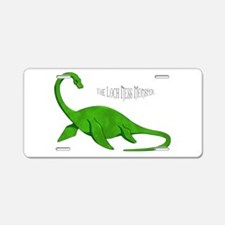 Loch Ness Monster Aluminum License Plate