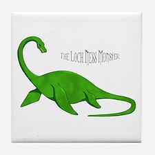 Loch Ness Monster Tile Coaster